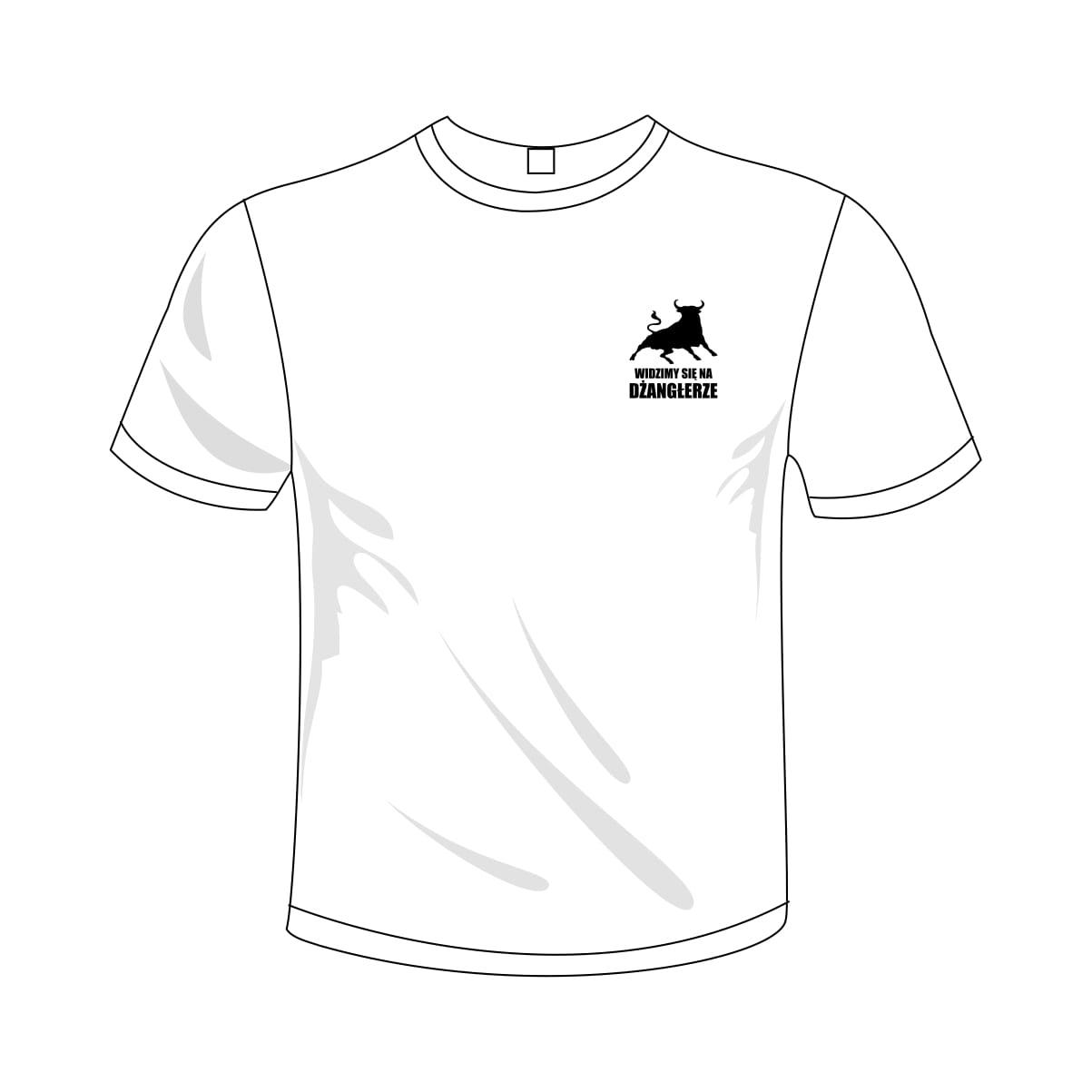 c724962f0 Koszulka męska - 4,5 Widzimy się na Dżangłerze - dołącz do naszej ...